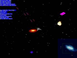 Asteroid Storm game screen