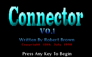 Connector title screen